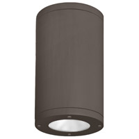 WAC Lighting DS-CD06-N40-BZ Tube Architectural LED 6 inch Bronze Outdoor Flush Mount