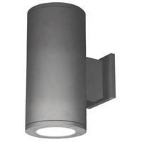 WAC Lighting DS-WD05-F35S-GH Outdoor Lighting LED 13 inch Graphite Double Side Outdoor Wall Mount in Straight Up and Down, 3500K, 85, 5