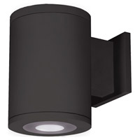 Tube Architectural LED 13 inch Black Outdoor Wall Sconce