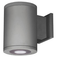 WAC Lighting DS-WS05-U30B-GH Tube Architectural LED 7 inch Graphite Outdoor Wall Sconce