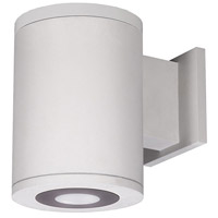 WAC Lighting DS-WS05-U30B-WT Tube Architectural LED 7 inch White Outdoor Wall Sconce