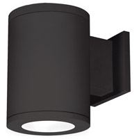Tube Architectural LED 7 inch Black Outdoor Wall Sconce