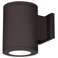 Outdoor Lighting LED 7 inch Bronze Single Side Outdoor Wall Mount in Towards the Wall, 3000K, 85, 5