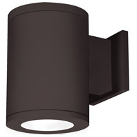 WAC Lighting DS-WS06-F35A-BZ Outdoor Lighting LED 10 inch Bronze Single Side Outdoor Wall Mount in Away from the Wall, 3500K, 85, 6