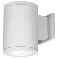 WAC Lighting DS-WS06-F30B-WT Outdoor Lighting LED 10 inch White Single Side Outdoor Wall Mount in Towards the Wall 3000K 85 6