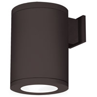 Tube Architectural LED 12 inch Bronze Outdoor Wall Sconce