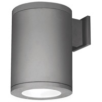 WAC Lighting DS-WS08-F35B-GH Outdoor Lighting LED 12 inch Graphite Single Side Outdoor Wall Mount in Towards the Wall, 3500K, 85, 8