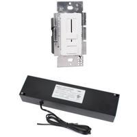 WAC Lighting EN-D24100-120-R Pixels Black 2700K 5 inch LED Light Sheet