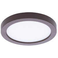 WAC Lighting FM-05RN-935-BZ Round LED 5 inch Bronze Flush Mount Ceiling Light in 3500K
