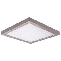 WAC Lighting FM-05SQ-930-NI Square LED 5 inch Nickel Flush Mount Ceiling Light in 3000K