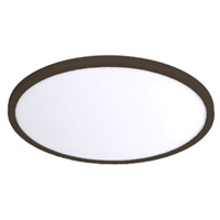 Bronze Aluminum Round Flush Mounts
