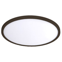 WAC Lighting FM-11RN-930-BZ Round LED 11 inch Bronze Flush Mount Ceiling Light in 3000K 11in