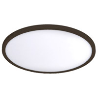 WAC Lighting FM-15RN-930-BZ Round LED 15 inch Bronze Flush Mount Ceiling Light in 3000K 15in