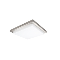 Metro LED 12 inch Brushed Nickel Flush Mount Ceiling Light