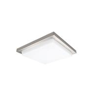 WAC Lighting FM-180112-30-BN Metro LED 12 inch Brushed Nickel Flush Mount Ceiling Light