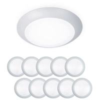 WAC Lighting FM-304-930-WT-10 Disc LED 6 inch White Flush Mount and Retrokit Kit Ceiling Light