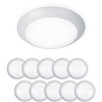 WAC Lighting FM-304-930-WT-10 Disc LED 6 inch White Flush Mount Ceiling Light in 10