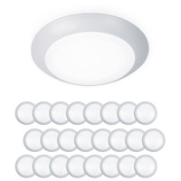 WAC Lighting FM-304-930-WT-24 Disc LED 6 inch White Flush Mount and Retrokit Kit Ceiling Light