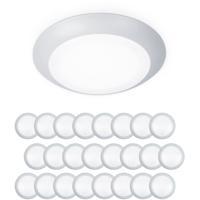 WAC Lighting FM-304-930-WT-24 Disc LED 6 inch White Flush Mount Ceiling Light in 24