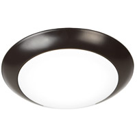 Disc LED Bronze Outdoor Retrofit Flush Mount