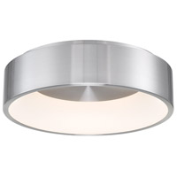 WAC Lighting FM-33718-AL Corso LED 18 inch Brushed Aluminum Flush Mount Ceiling Light, dweLED