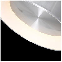 WAC Lighting FM-33723-AL Corso LED 23 inch Brushed Aluminum Flush Mount Ceiling Light in 23in, dweLED alternative photo thumbnail
