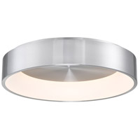 WAC Lighting FM-33723-AL Corso LED 23 inch Brushed Aluminum Flush Mount Ceiling Light in 23in, dweLED photo thumbnail