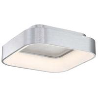WAC Lighting FM-38918-AL Tetris LED 18 inch Brushed Aluminum Flush Mount Ceiling Light, dweLED