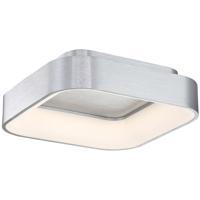 WAC Lighting FM-38918-AL Tetris LED 18 inch Brushed Aluminum Flush Mount Ceiling Light in 18in dweLED