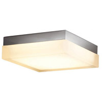 WAC Lighting FM-4012-30-BN Dice LED 12 inch Brushed Nickel Flush Mount Ceiling Light in 3000K, 12in, dweLED