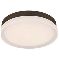 WAC Lighting FM-4109-35-BZ Slice LED 9 inch Bronze Flush Mount Ceiling Light, dweLED