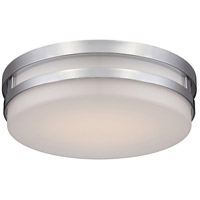 WAC Lighting FM-4313-30-BN Vie LED 14 inch Brushed Nickel Flush Mount Ceiling Light in 3000K, dweLED