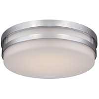 WAC Lighting FM-4313-35-CH Vie LED 14 inch Chrome Flush Mount Ceiling Light in 3500K, dweLED