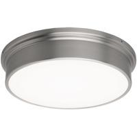 WAC Lighting FM-45012-BN York LED 12 inch Brushed Nickel Flush Mount Ceiling Light in 12in dweLED