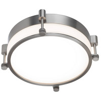 WAC Lighting FM-46014-BN Wright LED 14 inch Brushed Nickel Flush Mount Ceiling Light in 14in, dweLED