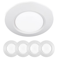 WAC Lighting FM-616G2-930-WT-4 I Cant Believe Its Not Recessed LED 8 inch White Flush Mount Ceiling Light