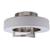WAC Lighting FM-96916-BN Madison LED 16 inch Brushed Nickel Flush Mount Ceiling Light dweLED