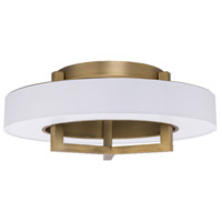 WAC Lighting FM-96922-AB Madison LED 22 inch Aged Brass Flush Mount Ceiling Light in 22in dweLED