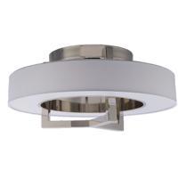 WAC Lighting FM-96928-BN Madison LED 28 inch Brushed Nickel Flush Mount Ceiling Light dweLED