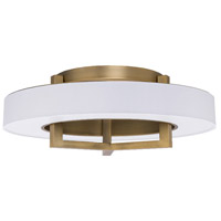 WAC Lighting FM-96928-AB Madison LED 28 inch Aged Brass Flush Mount Ceiling Light dweLED