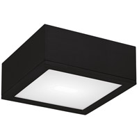 WAC Lighting FM-W2510-BK Outdoor Lighting LED 10 inch Black Outdoor Flush Mount