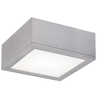 WAC Lighting Rubix Rubix 1 Light Outdoor Flush Mount in Graphite FM-W2510-GH