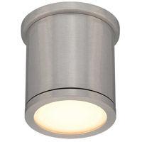 WAC Lighting FM-W2605-AL Outdoor Lighting LED 5 inch Brushed Aluminum Outdoor Flush Mount