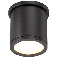 WAC Lighting FM-W2605-BK Outdoor Lighting LED 5 inch Black Outdoor Flush Mount