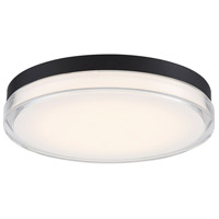 WAC Lighting FM-W57815-30-BK Dot LED 15 inch Black Outdoor Flush Mount dweLED
