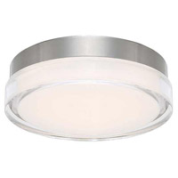 WAC Lighting FM-W57815-30-SS Dot LED 15 inch Stainless Steel Flush Mount Ceiling Light