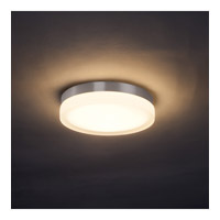 WAC Lighting Slice 1 Light Flush Mount/Sconce in Brushed Nicke FM-4109-BN