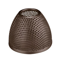 WAC Lighting G100 Series-Bronze Mesh Bulb Shield in Dark Bronze G115-DB