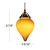 WAC Lighting Artemis QP Track Pendant (3000K LED) in Dark Bronze QP-LED496-IR/DB