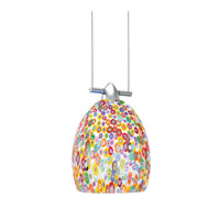 WAC Lighting G500 Series-Millefiore Dome Glass Shade in Millefiore G515-MF